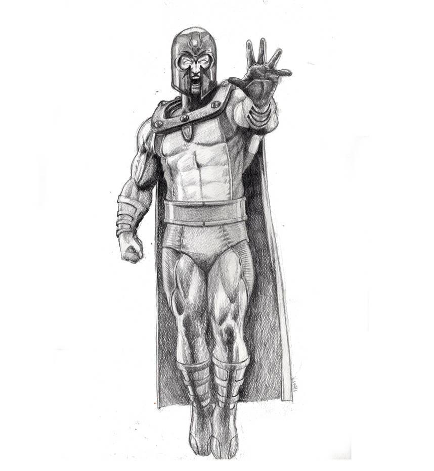 Magneto by kirocomic