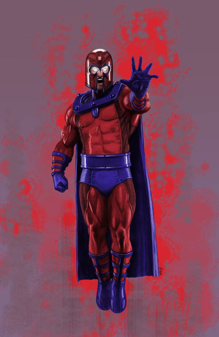 Magneto Color by kirocomic