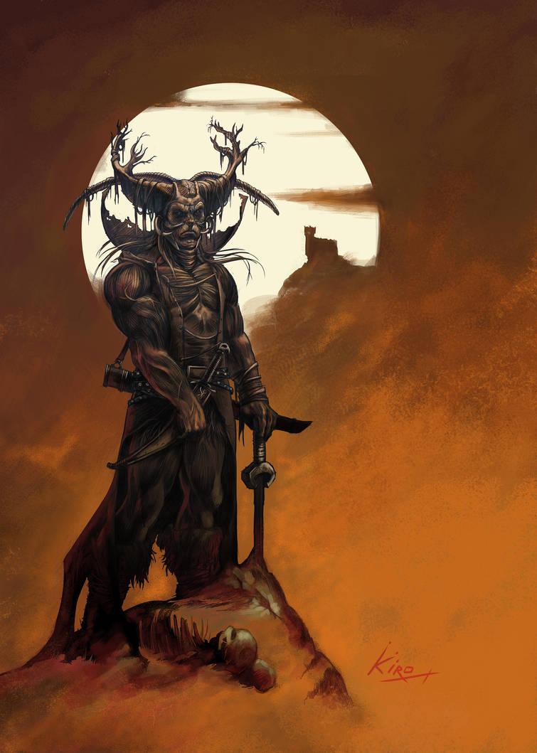 Demonio by kirocomic