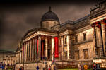 National Gallery in London-HDR