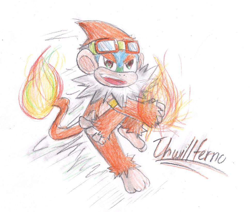 Art Challenge D 3: The Primate Inferno (3) by Thwill on