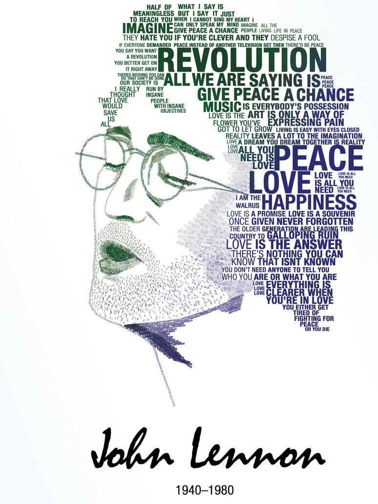 Lennon Portrait by pandab00