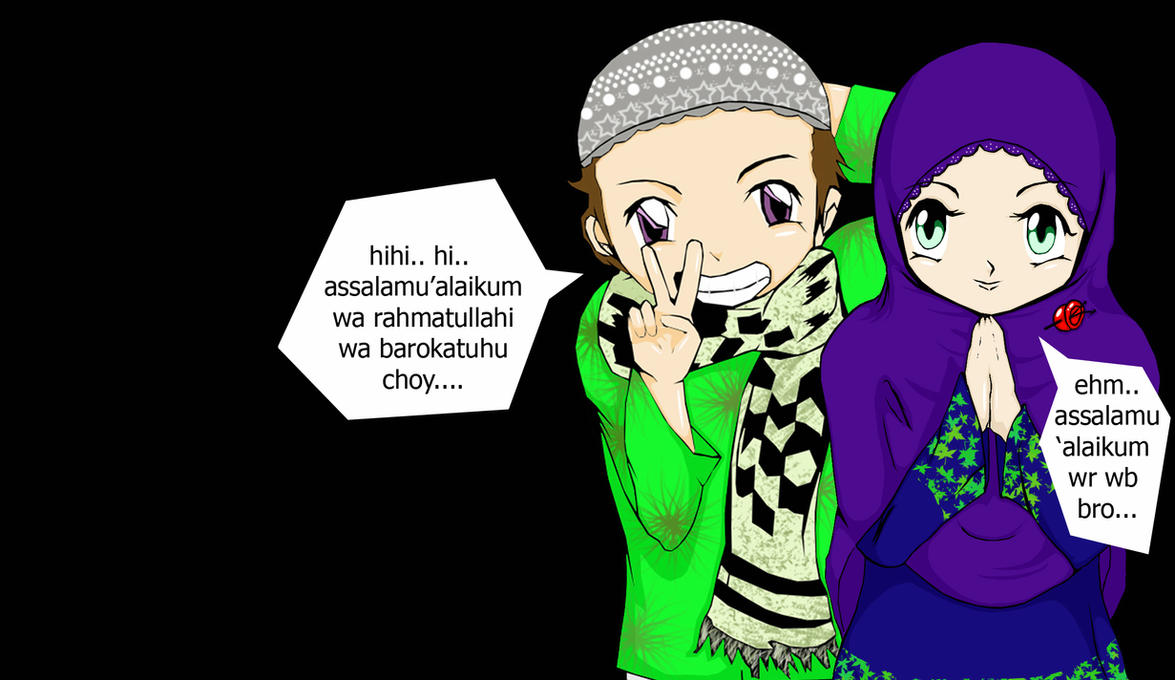 Anime Muslim Wallpaper By AbdulAzizAbdurrahman