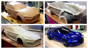 1/4 Scale Model Progress