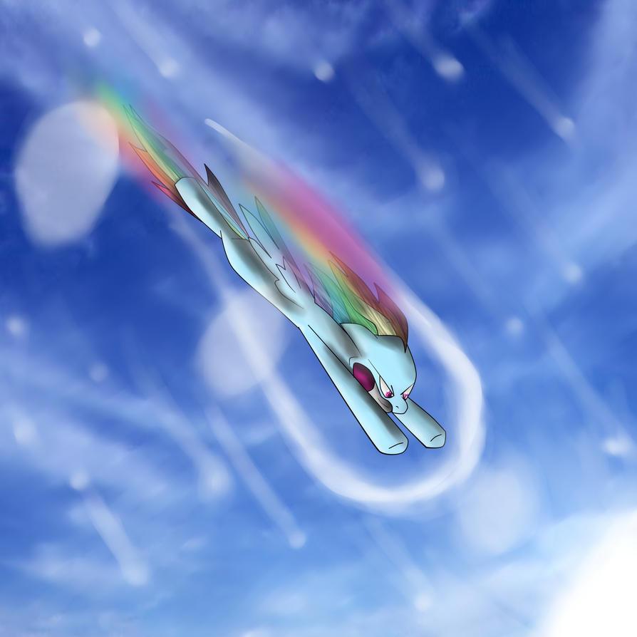 Sonic Boom RainbowDash by rorokata