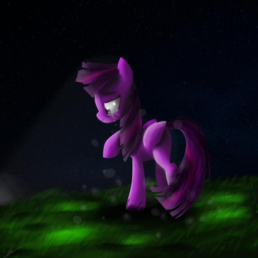 Mlp Twilight sparkle night by rorokata