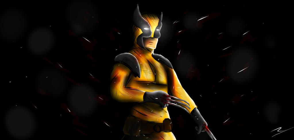 Wolverine by rorokata