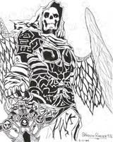 Skeleton warrior by shadowraider976