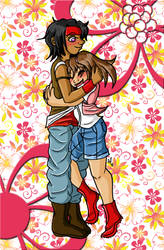 HM: A Joyful Embrace by Miss-Mae