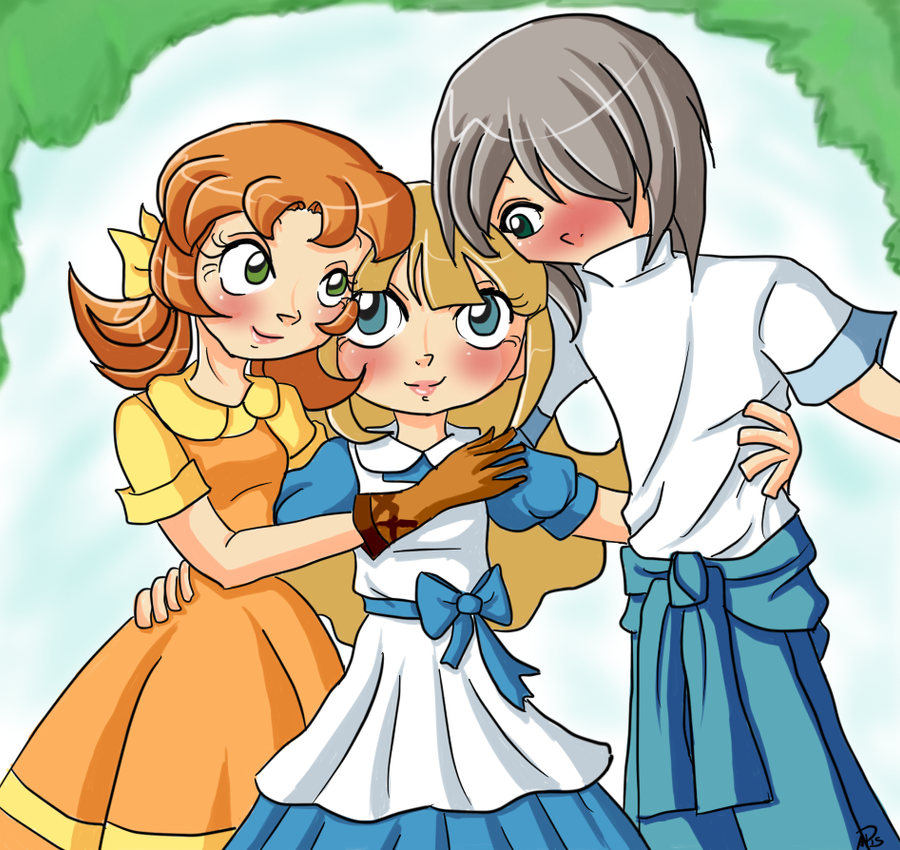 Hometown Story Trio by Miss-Mae