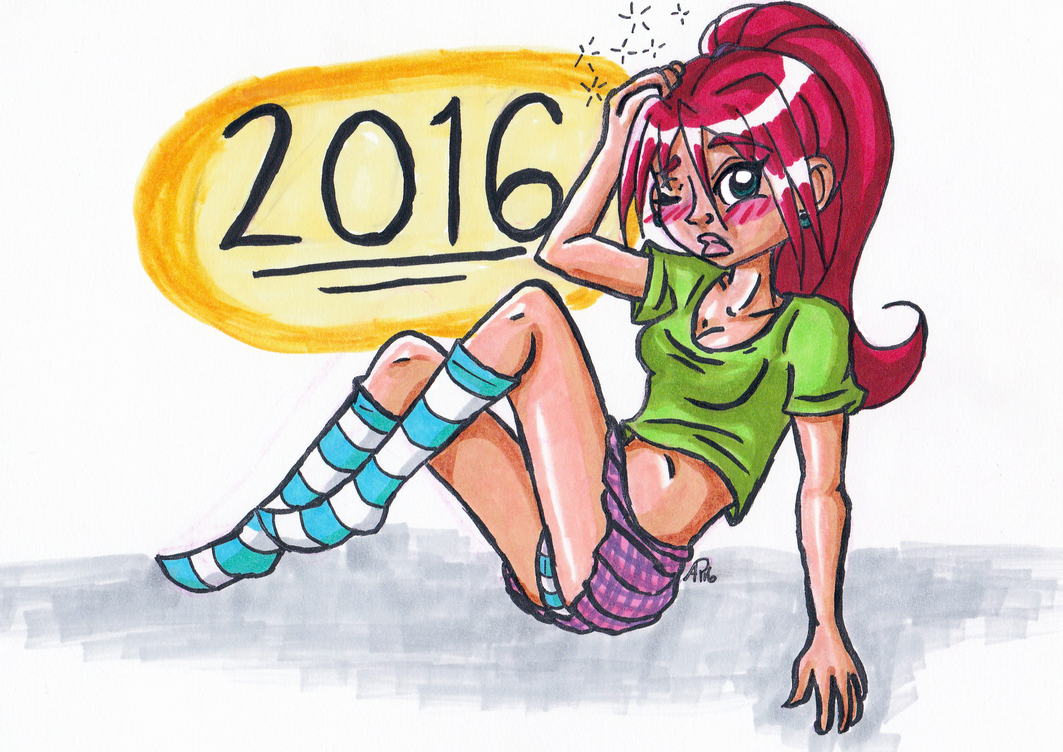 Tripping Into 2016 by Miss-Mae