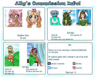 Updated Commission Info by Miss-Mae