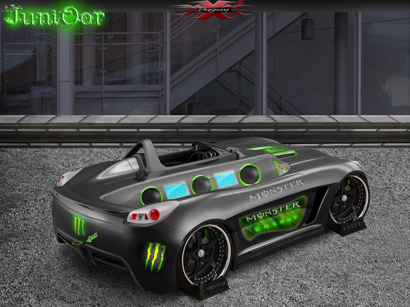 Monster Energy Car Wallpaper