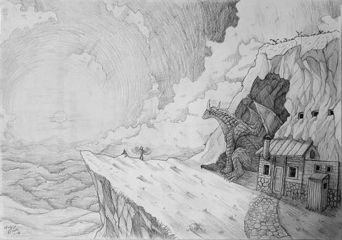 Dragon and Cabin