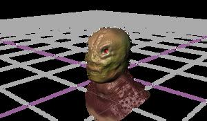 3D Monster design idea
