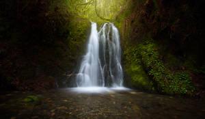 Hidden Spring Falls by JaclynTanemura