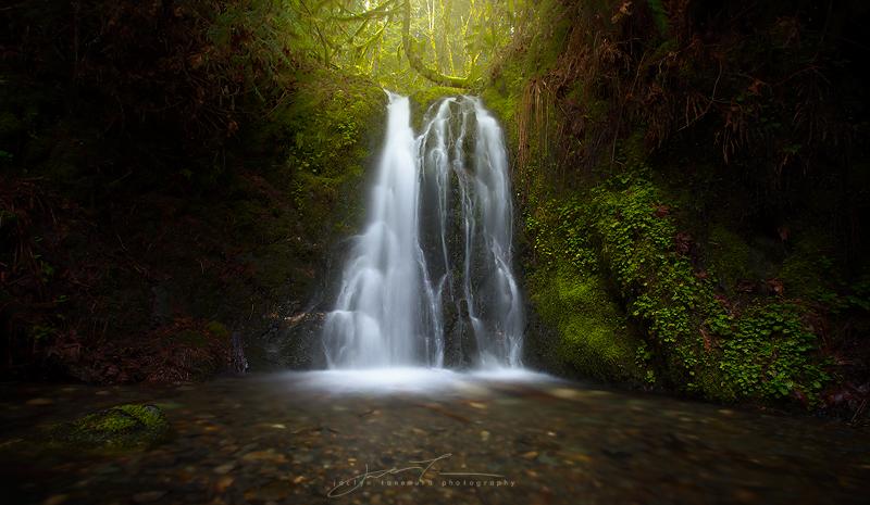 Hidden Spring Falls By Jaclyntanemura On Deviantart
