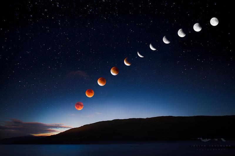 blood moon rising by JaclynTanemura