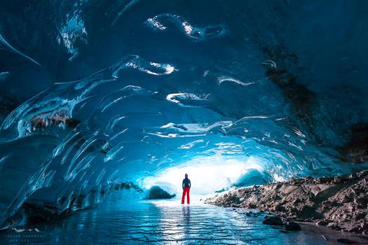 alone under the glacier