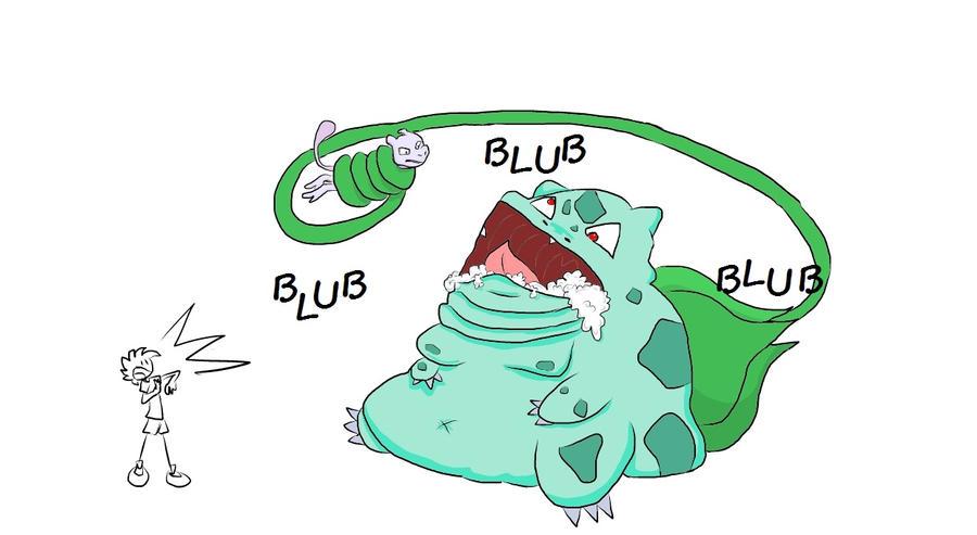 Blubasaur Strikes Back by NaarieKermie