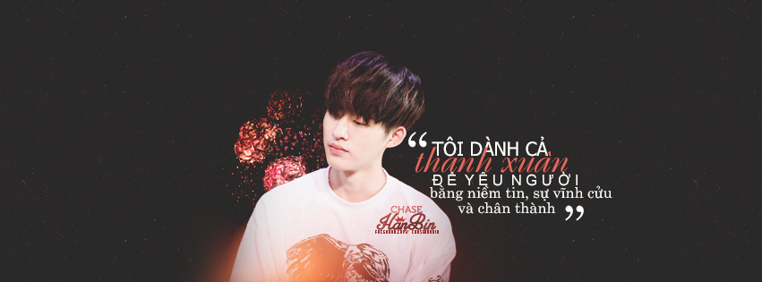 [Cover Quote] Hanbin iKON by linhchinie