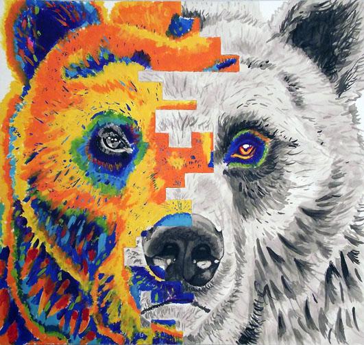 bear by artlover2342