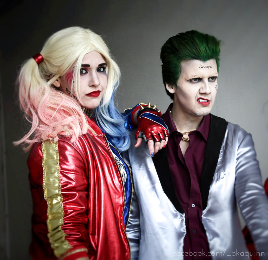 Harley Quinn and The Joker Suicide Squad Cosplay by arydiabolika ...  sc 1 st  DeviantArt & Harley Quinn and The Joker Suicide Squad Cosplay by arydiabolika on ...