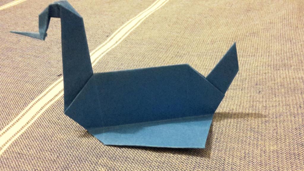 prison break swan origami by hiei1983 on deviantart