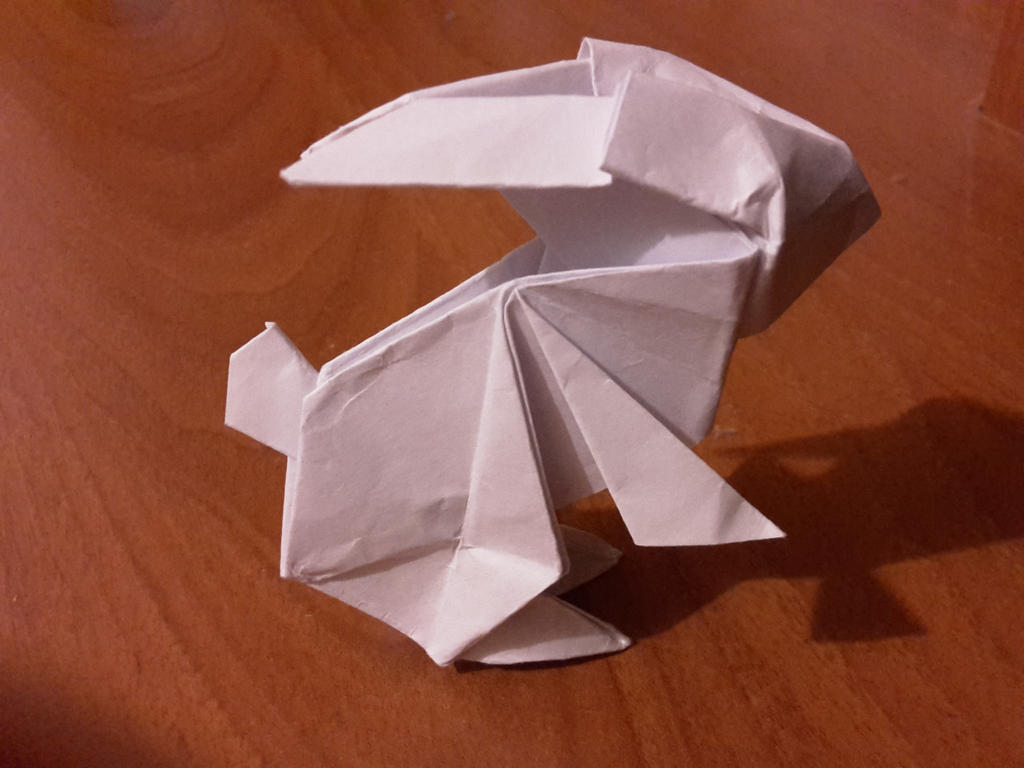 To The Moon Rabbit Origami By Hiei1983