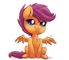 Scootaloo by Evehly