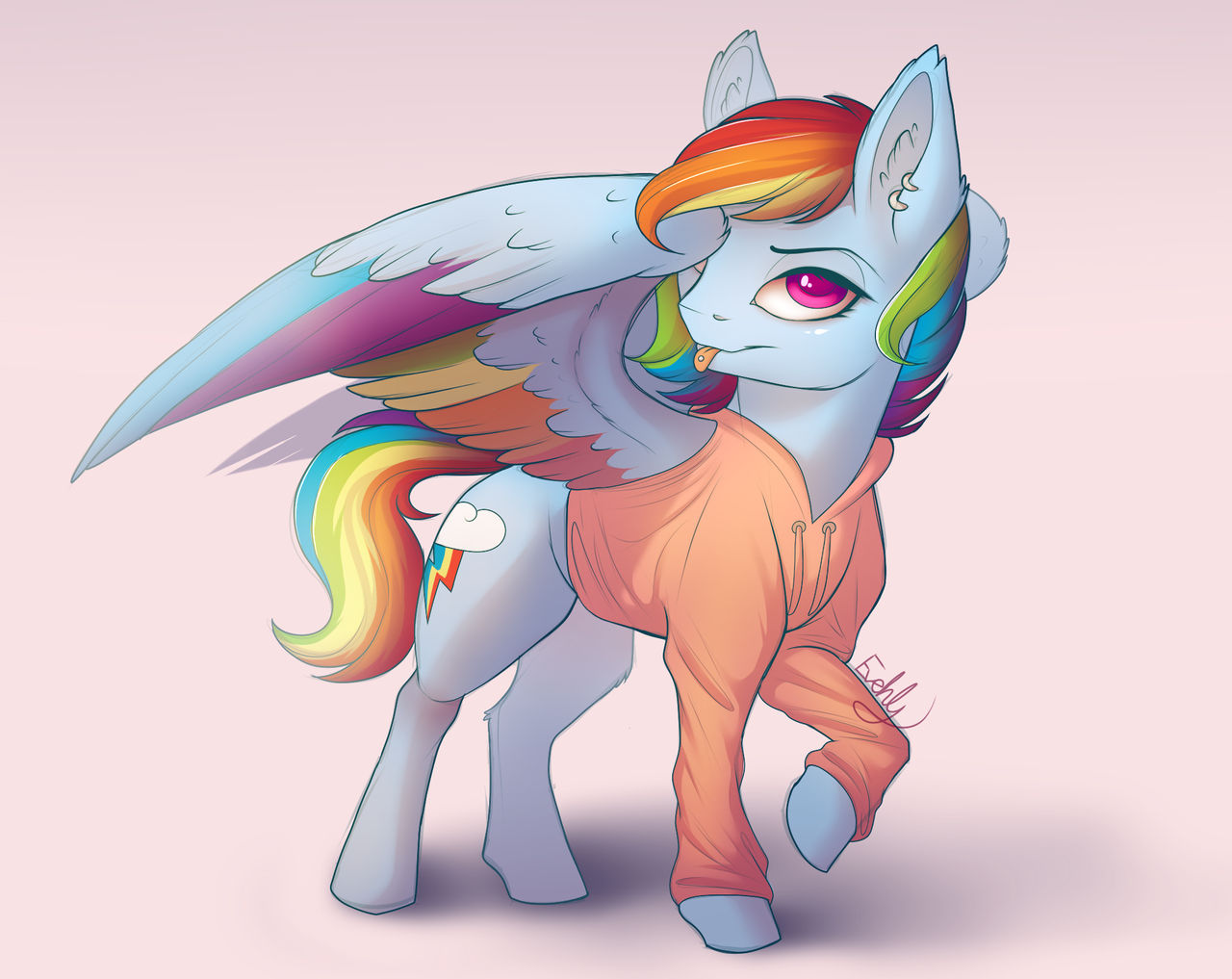When Was the Last Time I Drew Rainbow Dash?