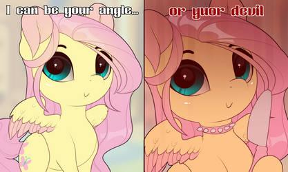 Yuor Angle or yuor Devil