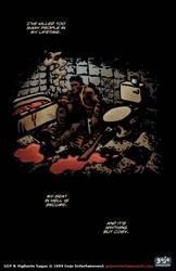 Vigilante Sagas pinup 1 by Diorgo