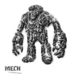 Mech by Diorgo