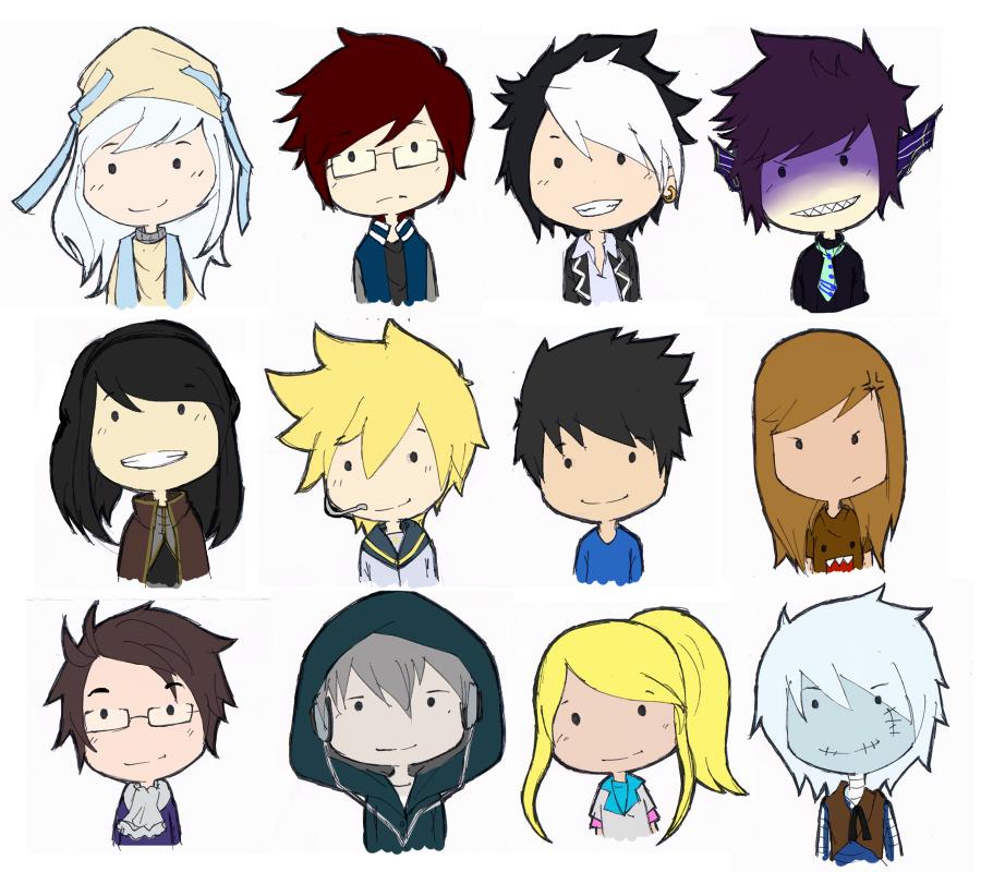A Dozen of Chibi by YakitatePan