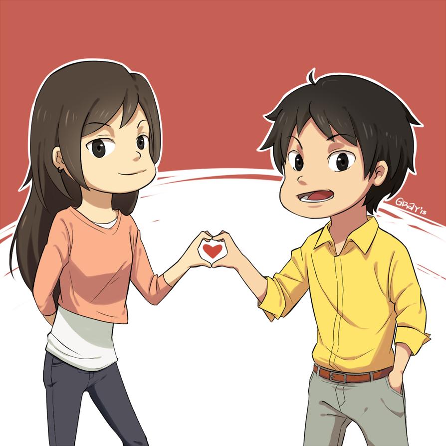hart hart by YakitatePan