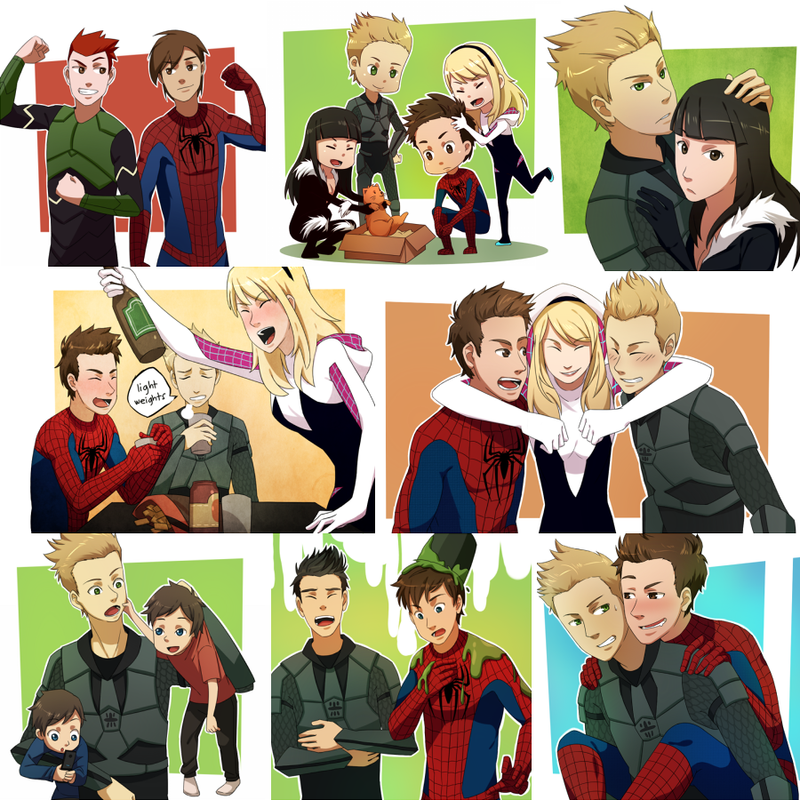 Spidey Commission Set by YakitatePan