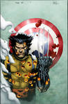 Fallen Son Wolverine cover