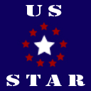 US Star gamer logo by jeaf7