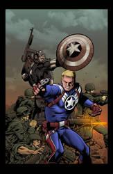Stever Rogers: Super Soldier 1 by jeaf7