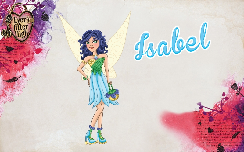 Ever After High OC Isabel by jeaf7