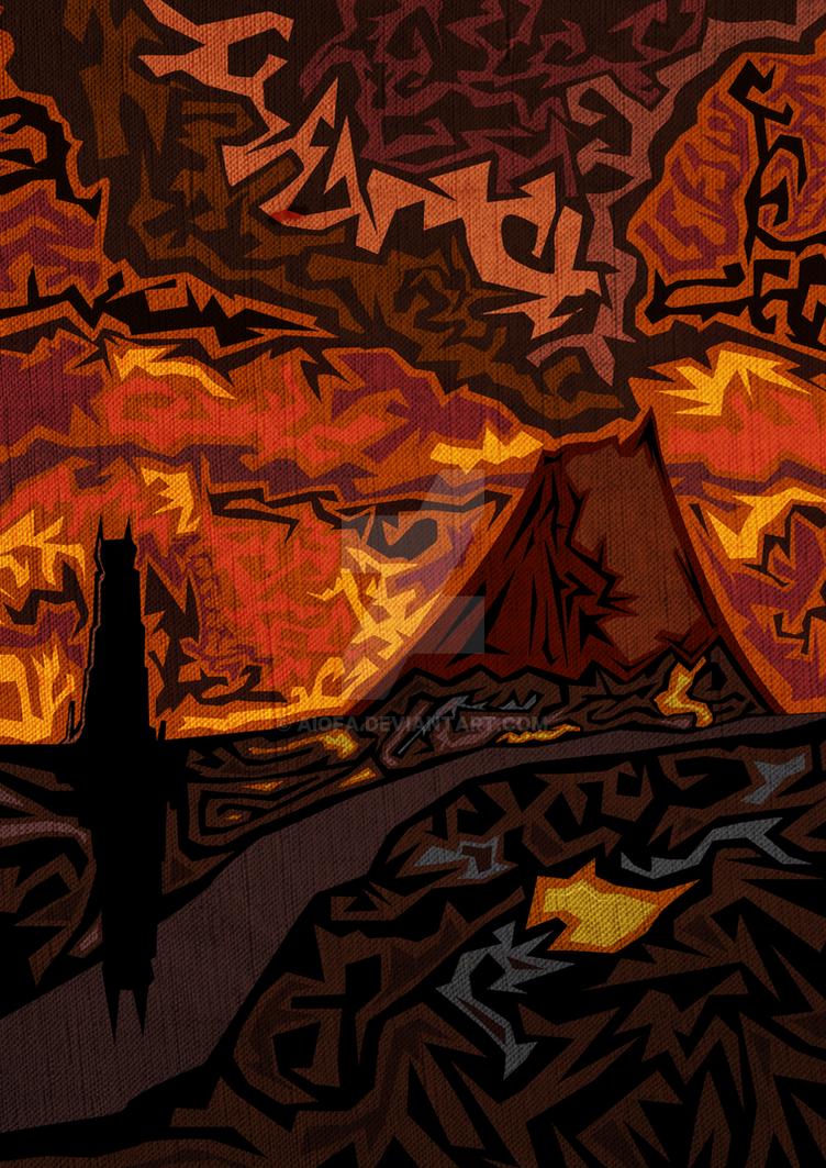 Mount Doom by Aiofa