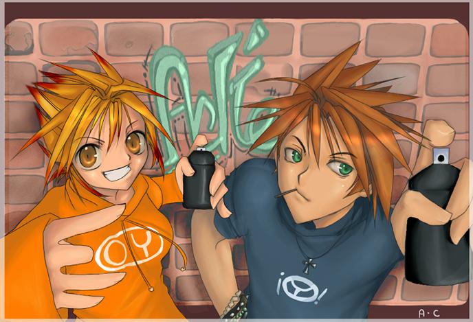 Aki and Rin