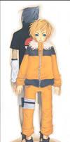 Fanart_Naruto and Sasuke