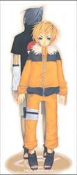 Fanart_Naruto and Sasuke by mitsuu