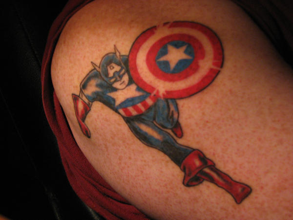 Captain America Tattoo by ~trask482 on deviantART