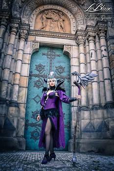 Ravenborn LeBlanc cosplay - Germia