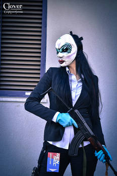 Clover cosplay - Payday 2