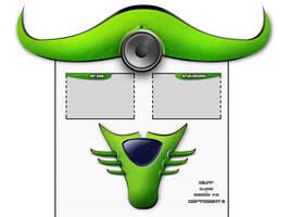 Interfaz... Alien design v.2 by raffskizze
