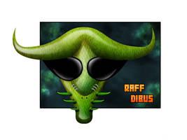 'Alien comic' by raffskizze